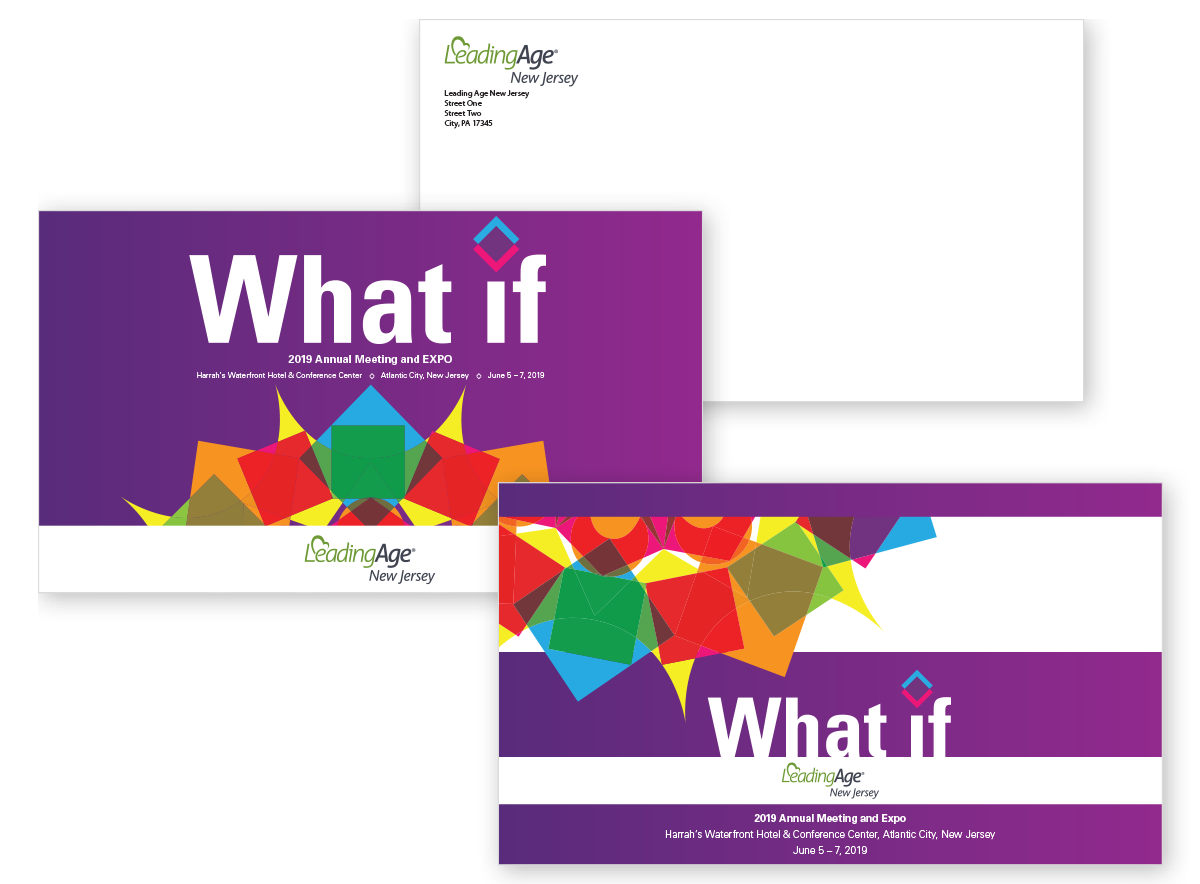 Leading Age conference personalized mailers