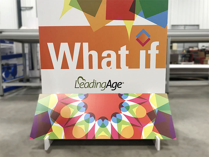 Leading Age event signage