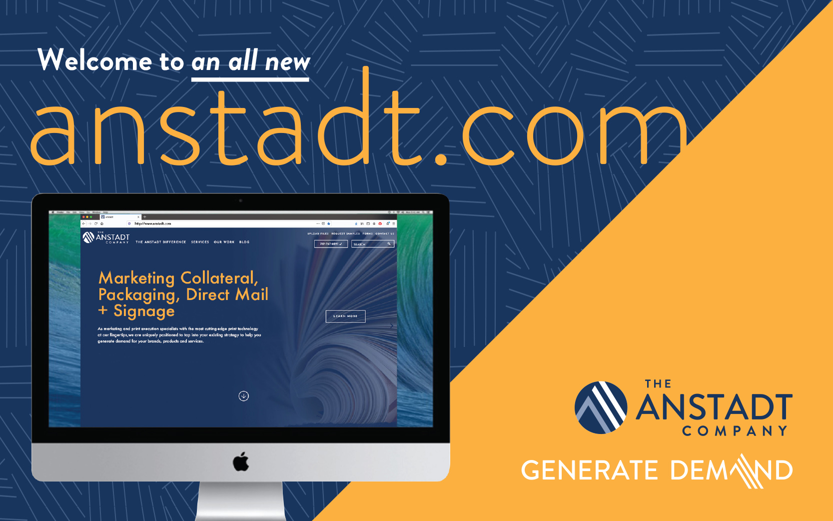 Welcome to an all new anstadt.com