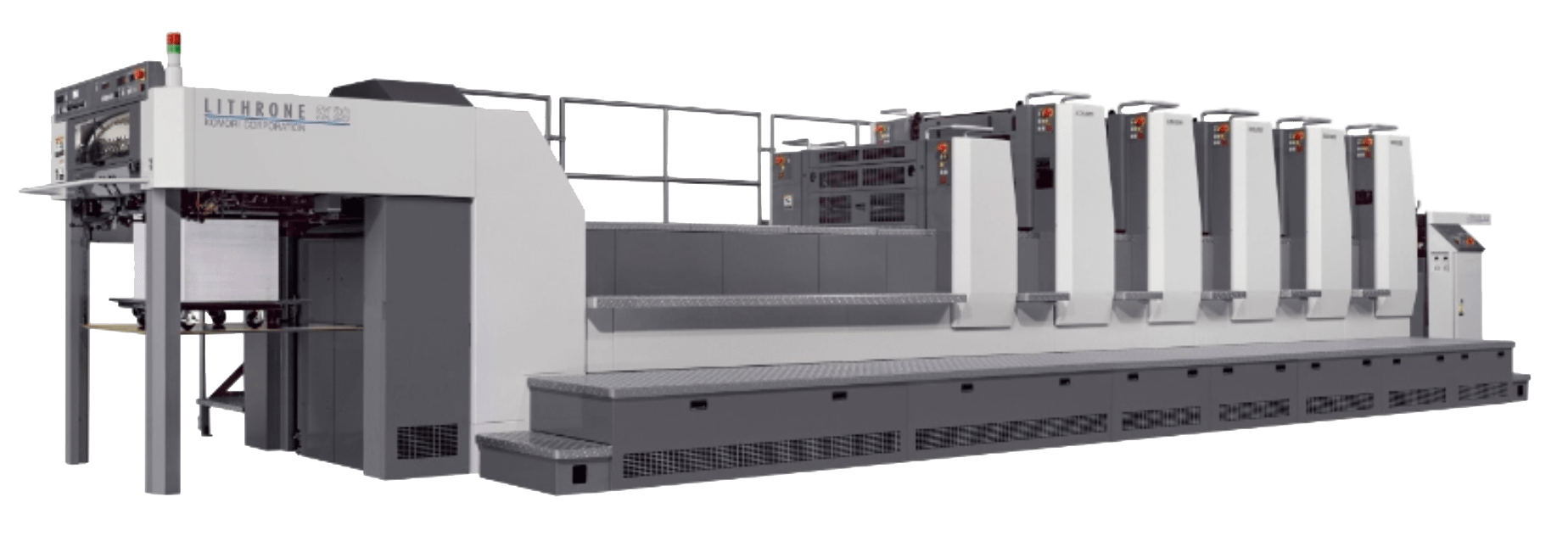 Komori Lithrone offset printing press