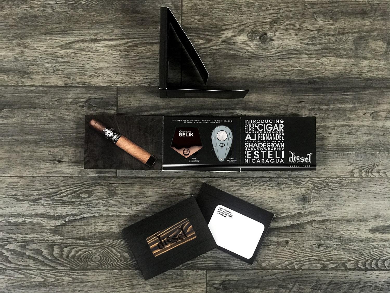 Diesel customized cigar package