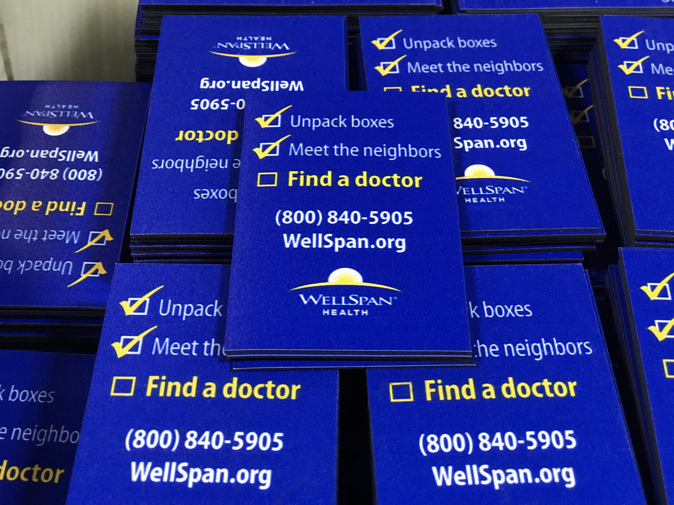 Wellspan Health custom brochures